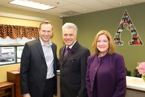 Allies, Inc. Receives a Visit from Mayor Jeff Martin